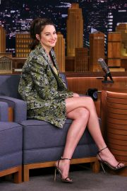 Shailene Woodley - On 'The Tonight Show Starring Jimmy Fallon' in NYC