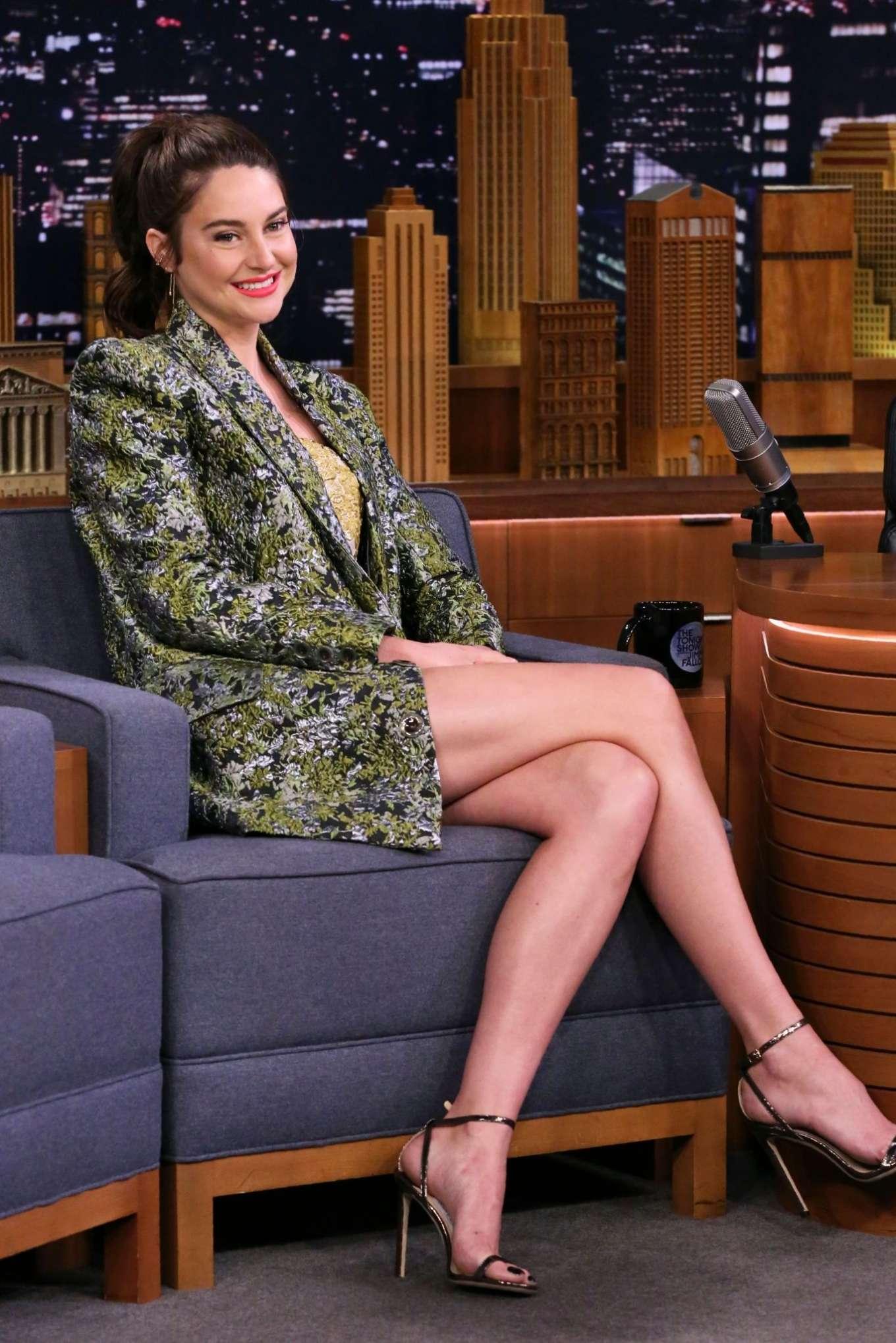 Shailene Woodley 2019 : Shailene Woodley: On The Tonight Show Starring Jimmy Fallon-05
