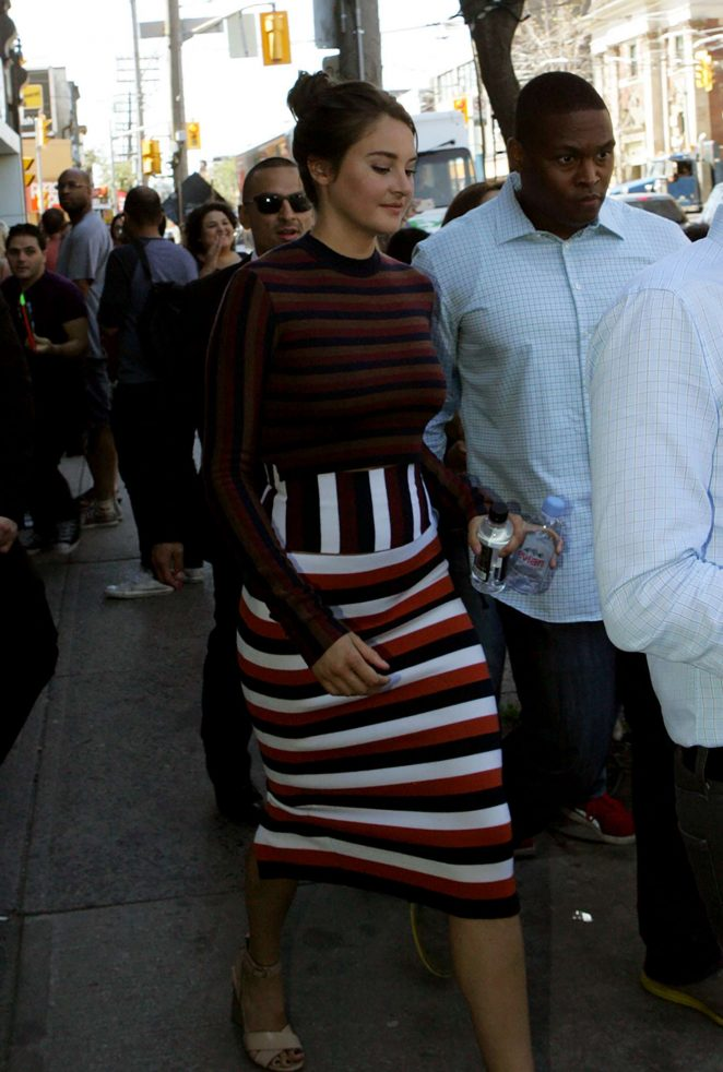 Shailene Woodley - Out and about in Toronto