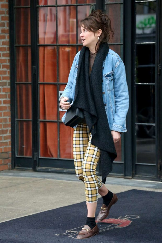 Shailene Woodley - Out in NYC