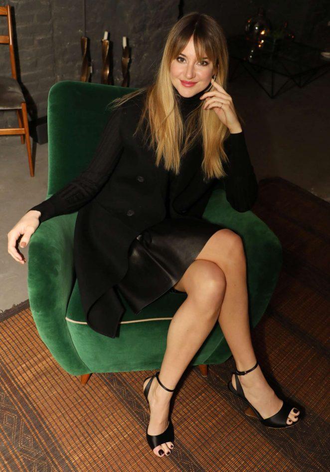Shailene Woodley - Salvatore Ferragamo Intimate Dinner in Milan
