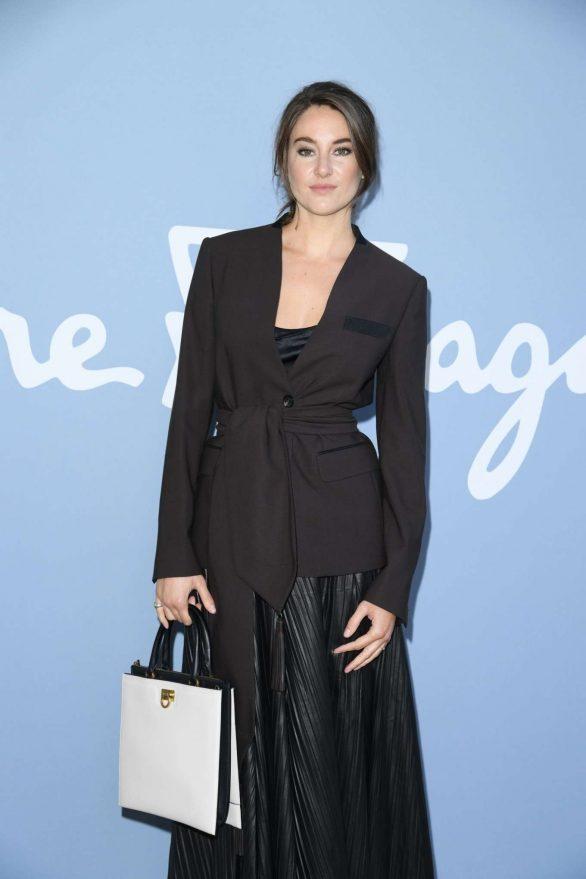 Shailene Woodley - Salvatore Ferragamo Show at Milan Fashion Week
