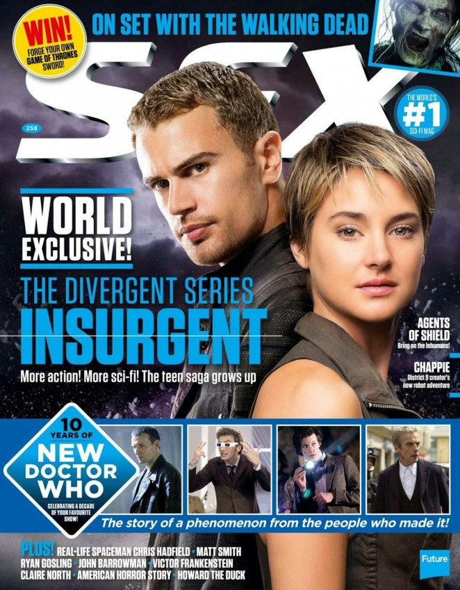 Shailene Woodley - SFX UK Magazine (April 2015)
