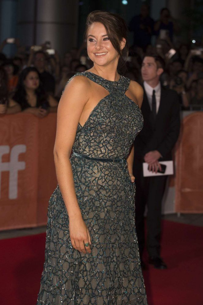 Shailene Woodley - 'Snowden' Premiere at 2016 Toronto International Film Festival