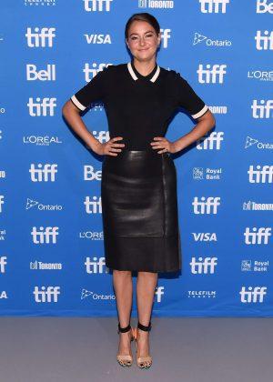 Shailene Woodley - 'Snowden' Press Conference at 2016 Toronto International Film Festival