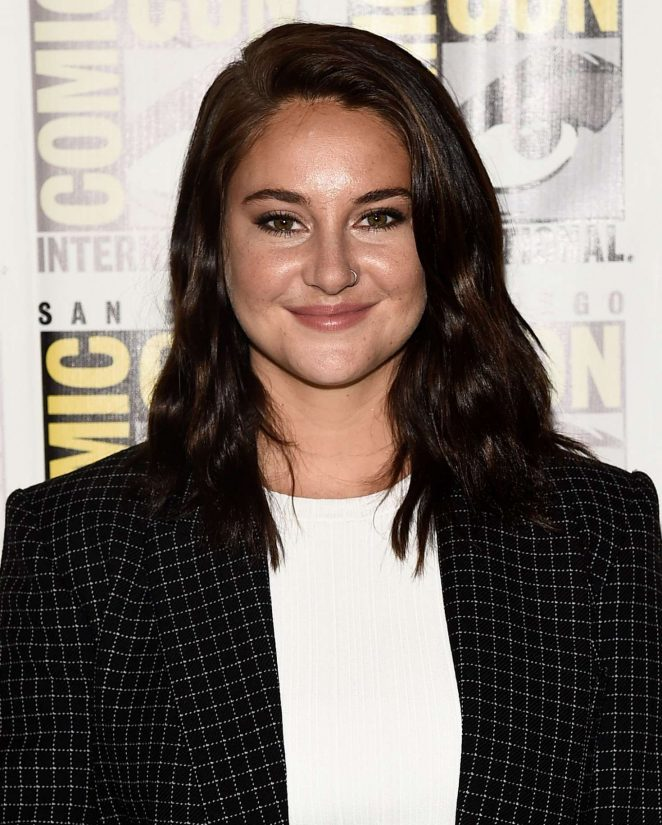 Shailene Woodley - 'Snowden' Press Line at Comic-Con 2016 in San Diego