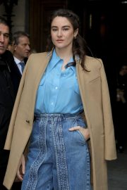 Shailene Woodley - Stella McCartney Show at Paris Fashion Week 2020