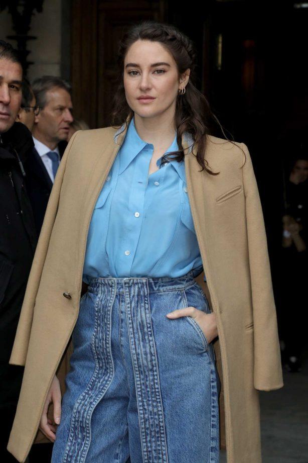 Shailene Woodley - Stella McCartney Show at Paris Fashion Week 2020