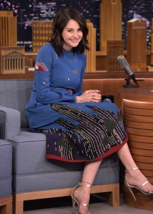 Shailene Woodley - 'The Tonight Show Starring Jimmy Fallon' in NYC