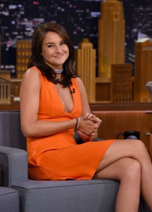 Shailene Woodley - 'The Tonight Show with Jimmy Fallon' in New York