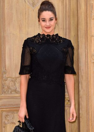 Shailene Woodley - Valentino Fashion Show SS17 in Paris