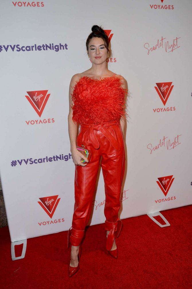 Shailene Woodley - Virgin Voyages Scarlet Night Party in NY