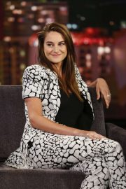 Shailene Woodley - Visits Jimmy Kimmel Live in Hollywood