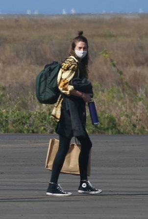Shailene Woodley - With Aaron Rodgers spotted as they depart Costa Careyes