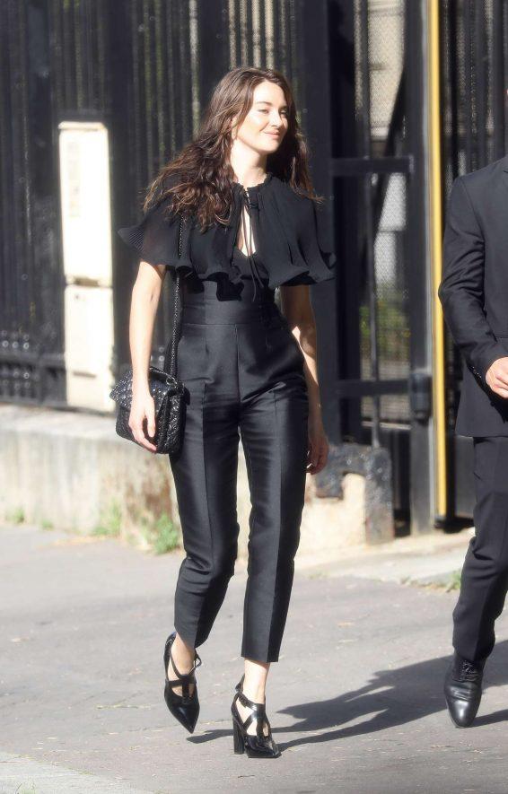 Shailene Woodley - Zoe Kravitz Ceremony Wedding in Paris