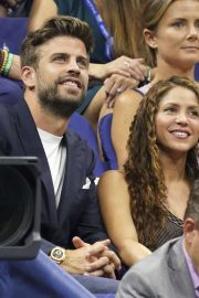 Shakira and Gerard Pique - 2019 US Open in New York