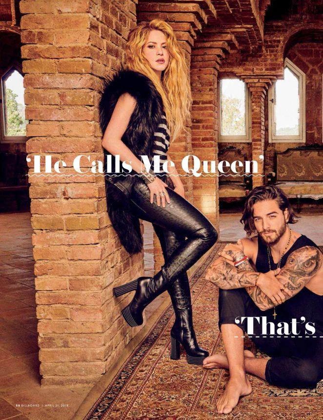 Shakira and Maluma: Billboard Magazine 2018 -07 – GotCeleb
