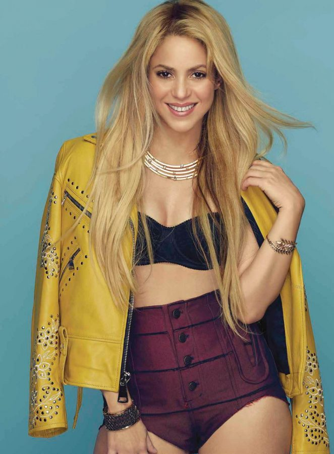 Shakira - Cosmopolitan Mexico Magazine (July 2017)