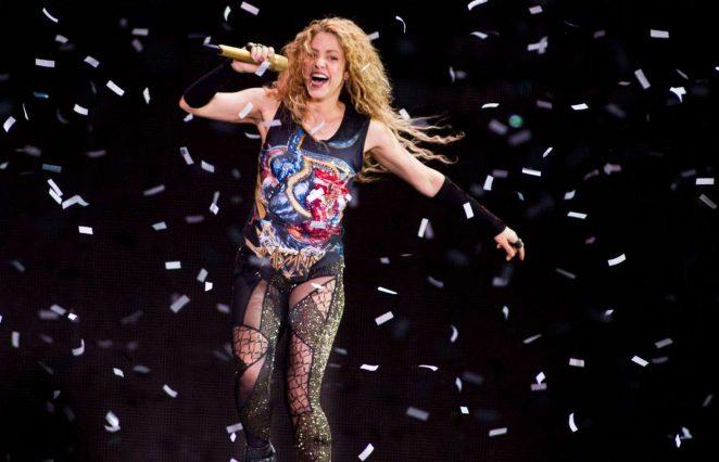 Shakira - 'El Dorado' World Tour Concert at the Ziggo Dome in Amsterdam