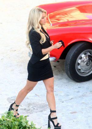 Shakira - Filming an Advert in Vilanova