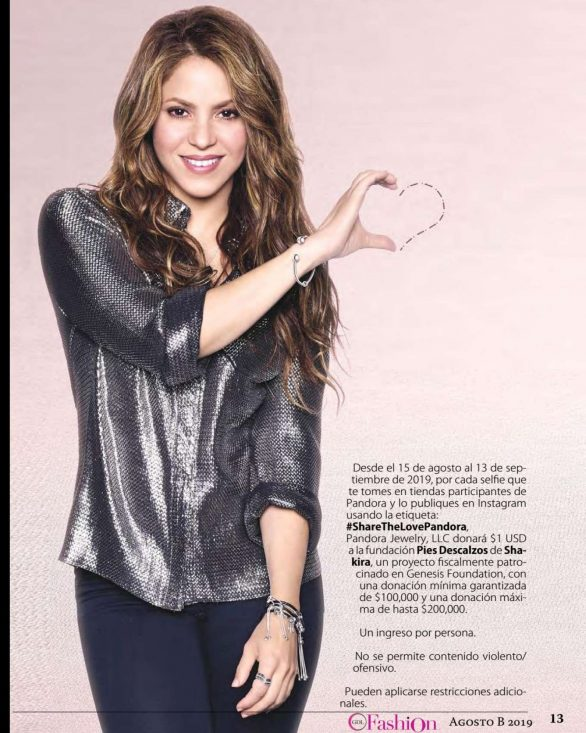 Shakira - GDLFashion Magazine (August 2019)