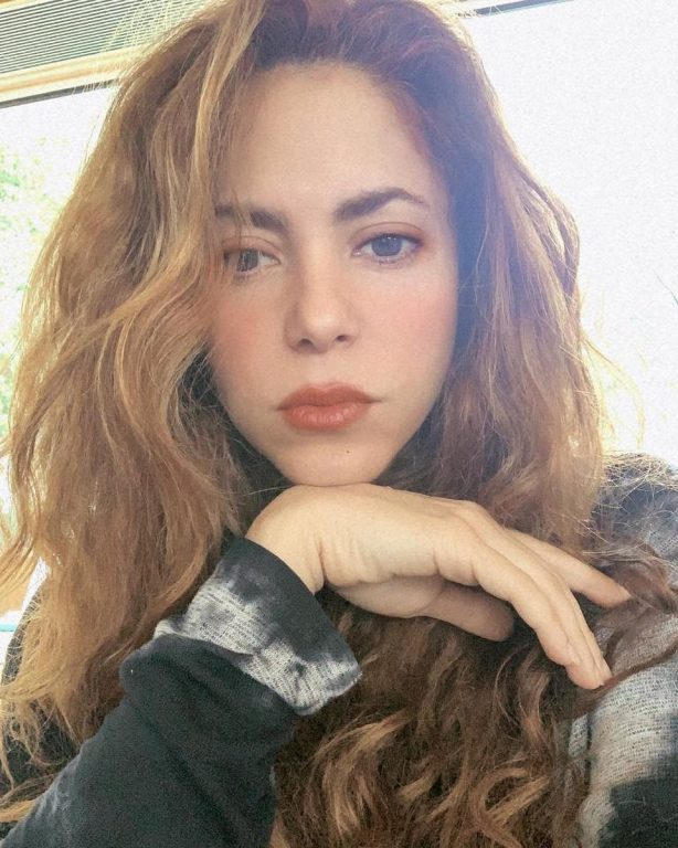 Shakira - Latest social media photos