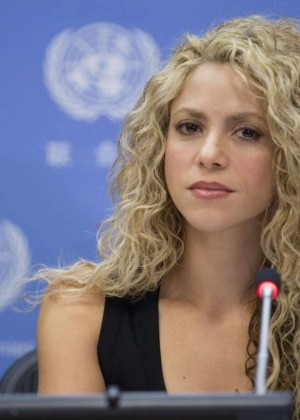 Shakira - Meeting Of The Minds at United Nations in NY