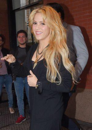 Shakira out in Soho