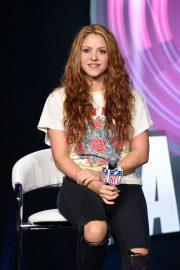 Shakira - Super Bowl LIV Halftime Show Press Conference in Miami