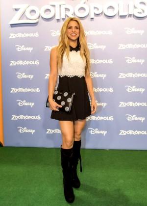 Shakira - 'Zootropolis' Premiere in Barcelona