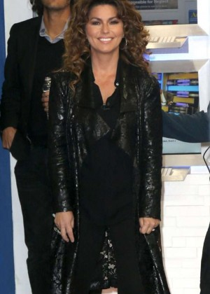 Shania Twain - Arriving at Good Morning America in New York