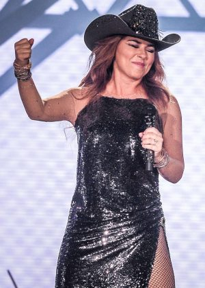 Shania Twain - Performs at the Cowboy Festival of Barretos in Sao Paulo