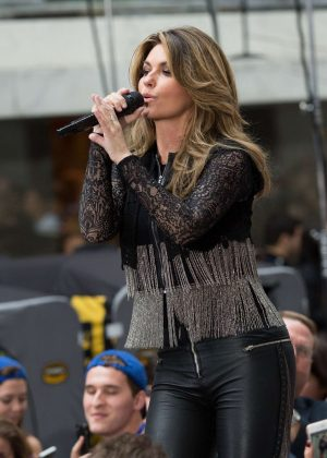 Shania Twain - Performs on NBC Today Show Summer Concert Series in NY