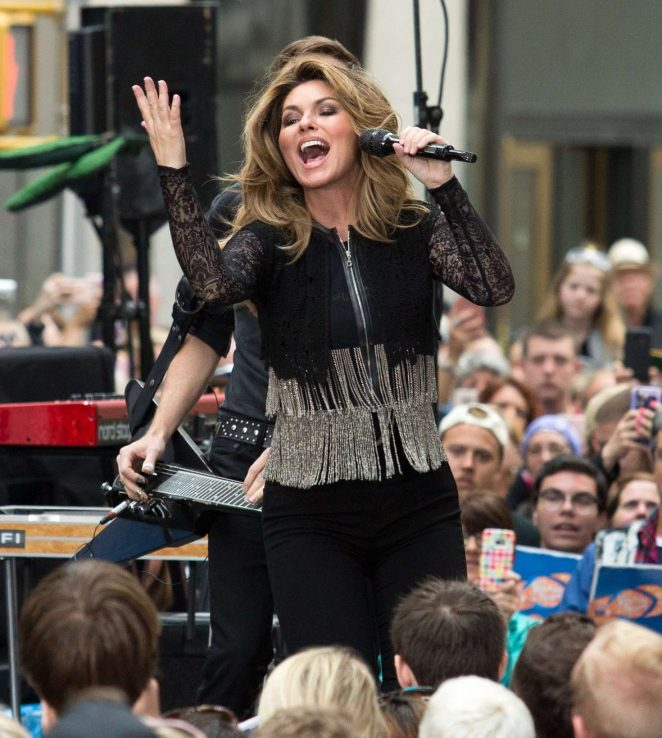 Shania Twain: Performs on NBC Today Show Summer Concert Series -05