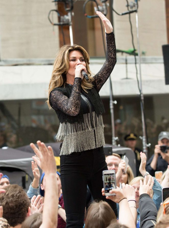 Shania Twain: Performs on NBC Today Show Summer Concert Series -10