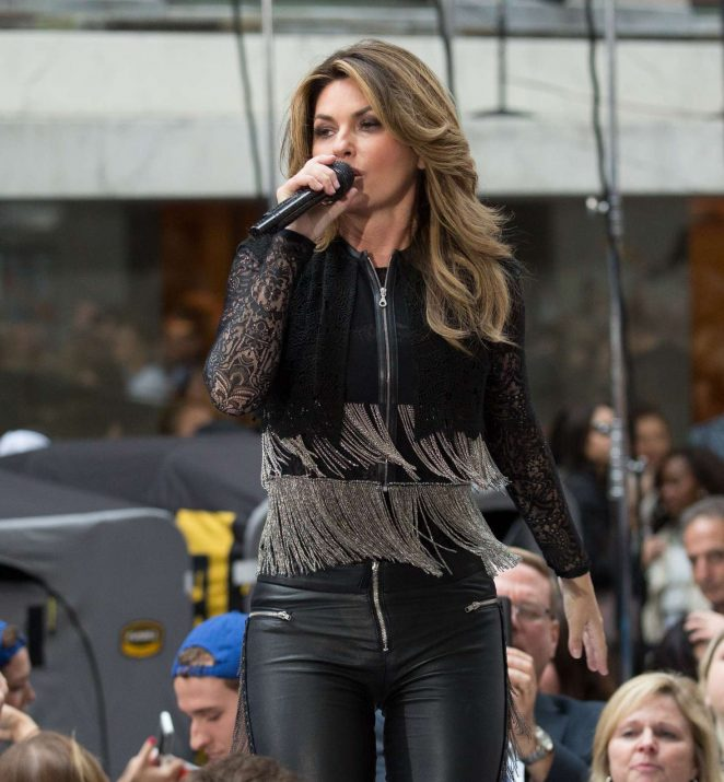 Shania Twain: Performs on NBC Today Show Summer Concert Series -11
