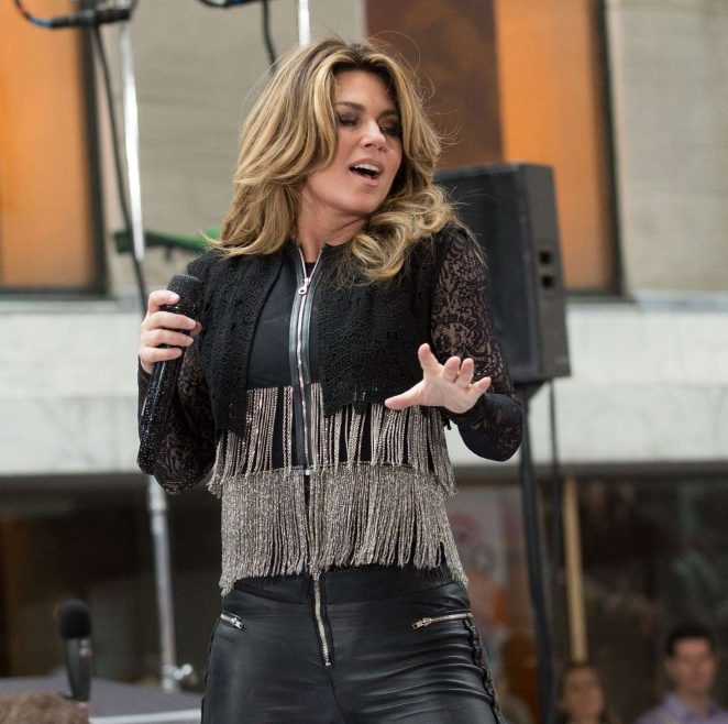 Shania Twain: Performs on NBC Today Show Summer Concert Series -12