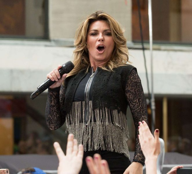 Shania Twain: Performs on NBC Today Show Summer Concert Series -13