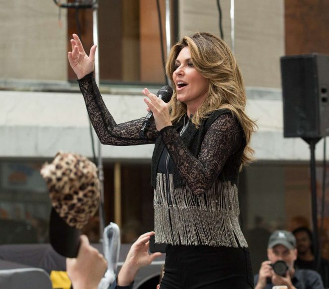 Shania Twain: Performs on NBC Today Show Summer Concert Series -14