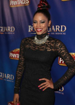 Shanica Knowles - 'The Bodyguard' Opening Night in Los Angeles