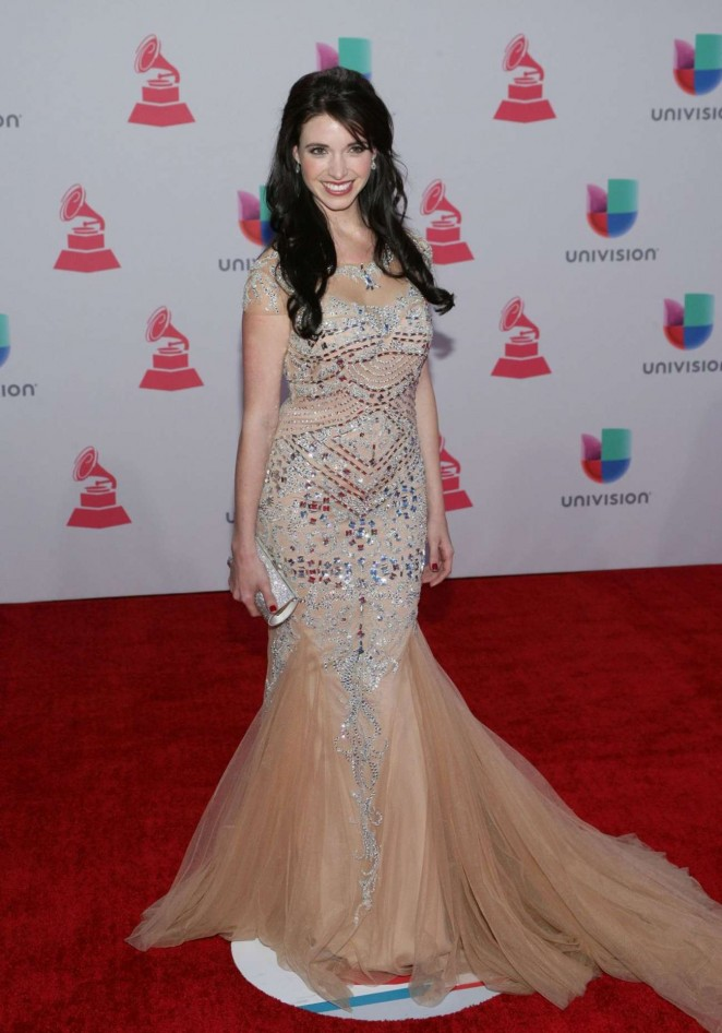 Shanik Hughes - 2015 Latin Grammy Awards in Las Vegas