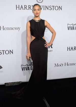 Shanina Shaik - amfAR New York Gala 2015