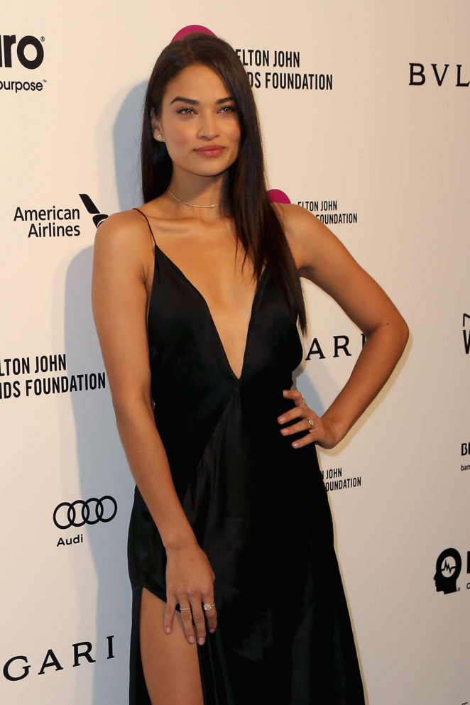 Shanina Shaik - 2016 Elton John AIDS Foundation's Oscar Viewing Party in West Hollywood