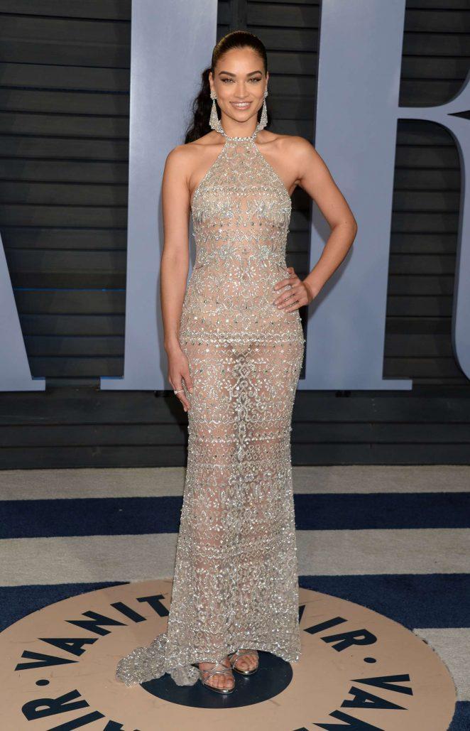 Shanina Shaik - 2018 Vanity Fair Oscar Party in Hollywood