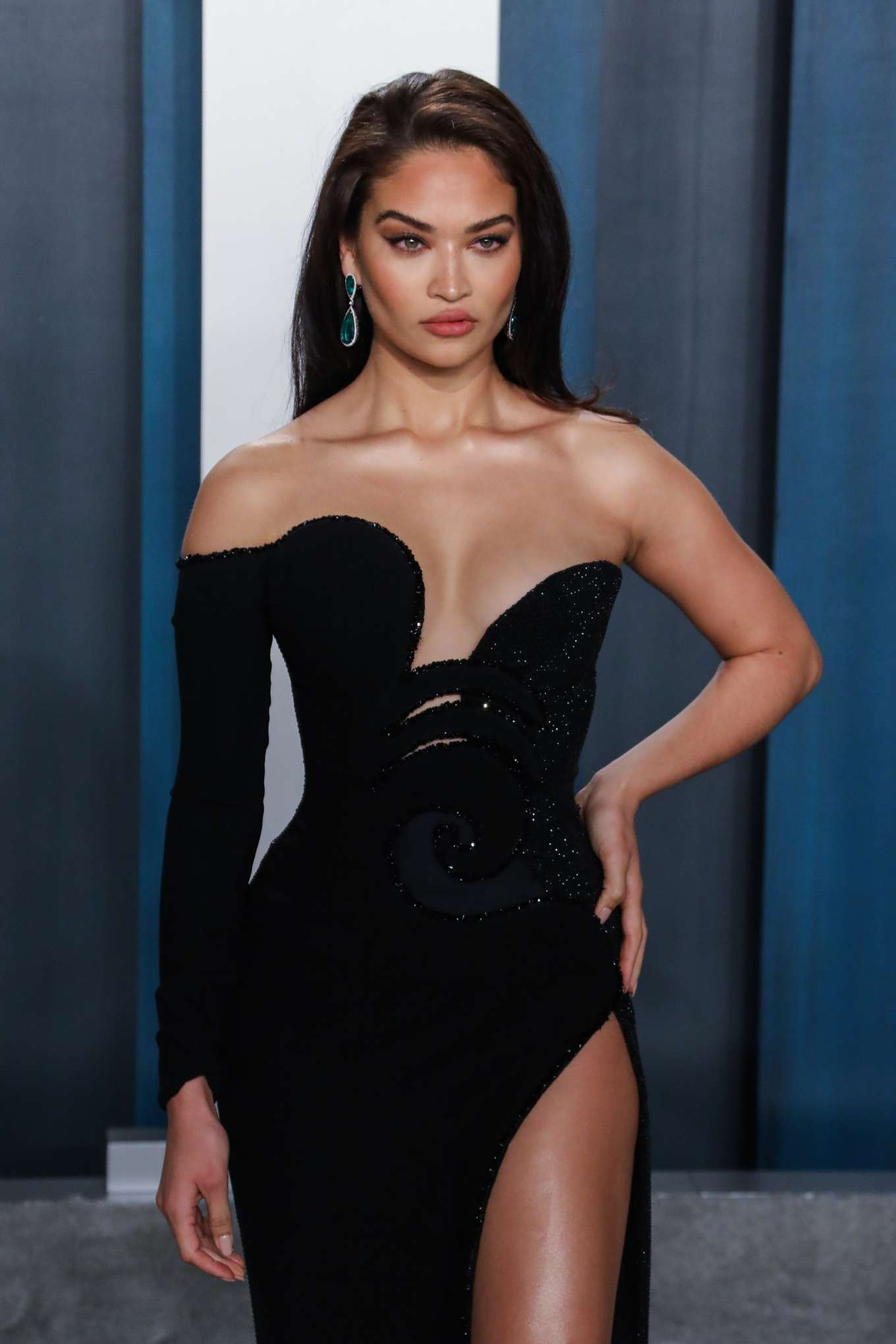 Shanina Shaik - 2020 Vanity Fair Oscar Party in Beverly Hills