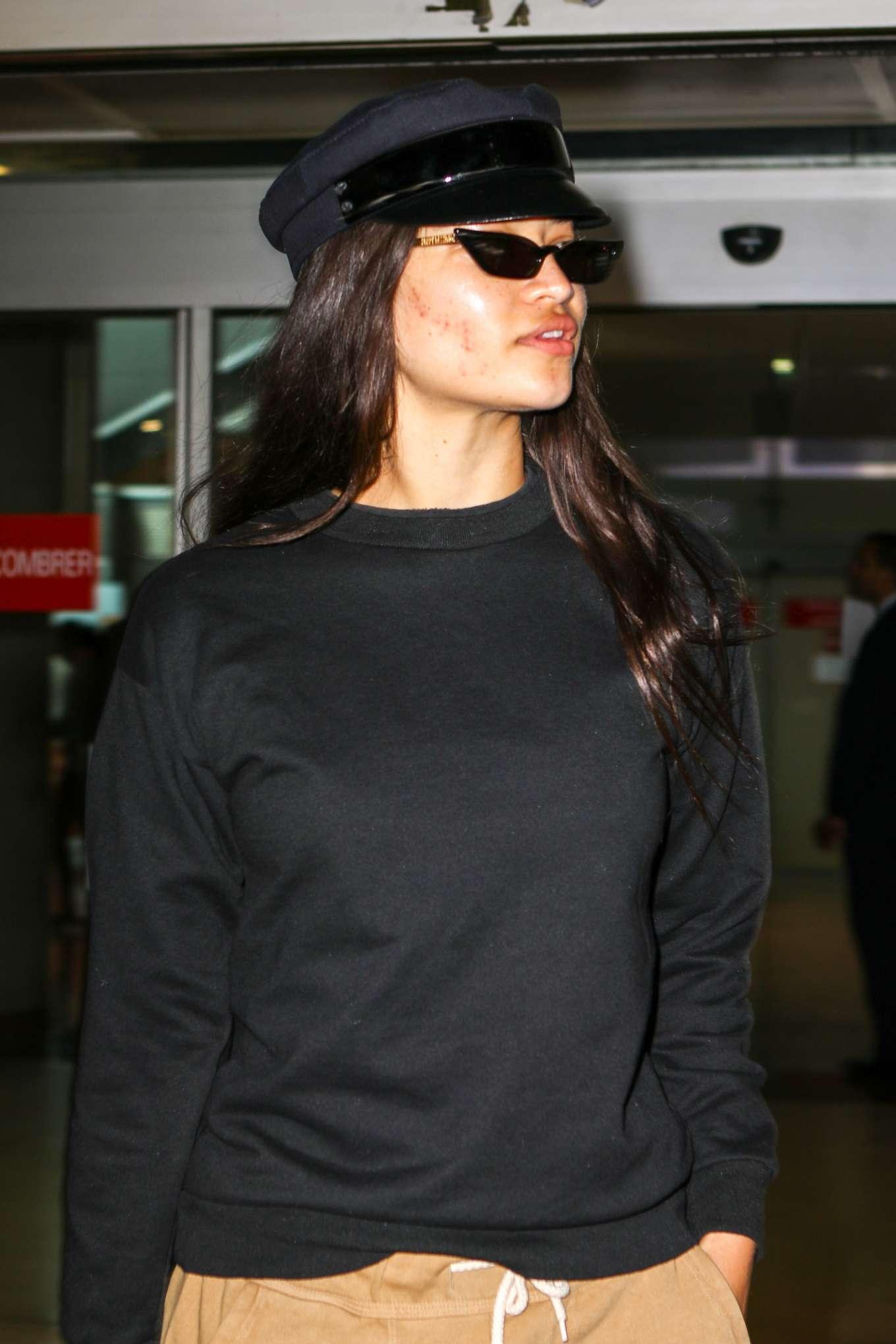 Shanina Shaik 2019 : Shanina Shaik: Arrives at Nice Airport-04