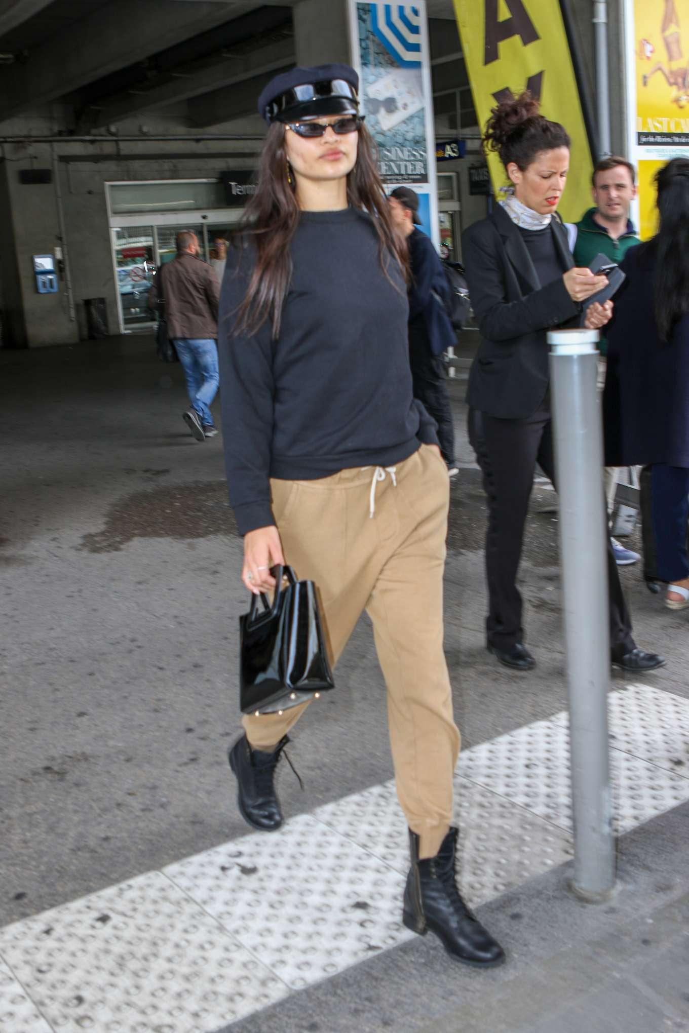 Shanina Shaik 2019 : Shanina Shaik: Arrives at Nice Airport-06