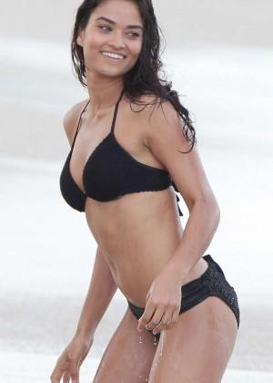 Shanina Shaik - Bikini Photoshoot in Miami