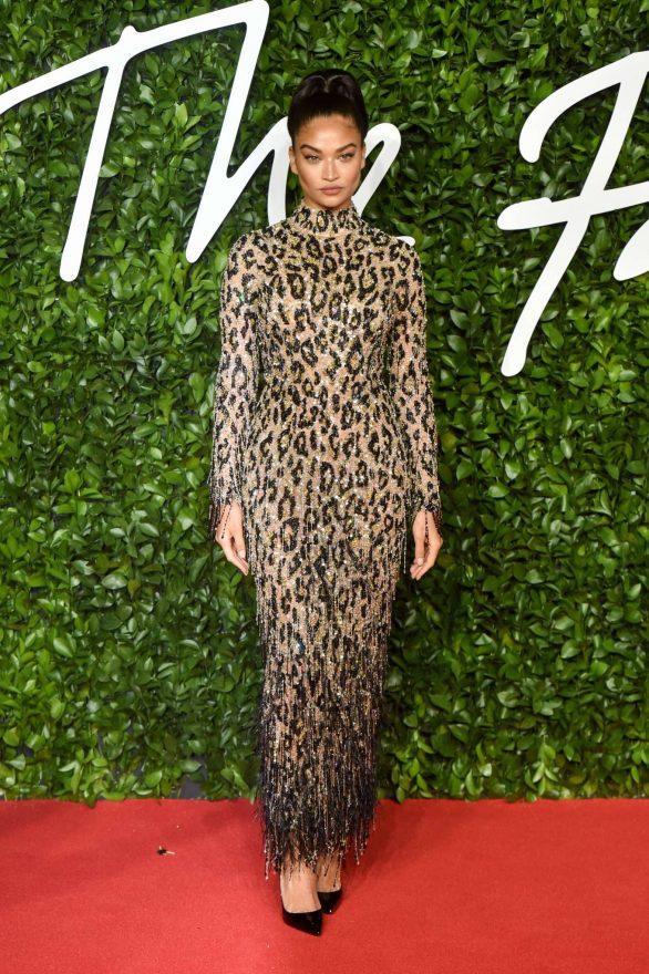 Shanina Shaik - Fashion Awards 2019 in London