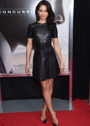 Shanina Shaik - 'Concussion' Premiere in New York City
